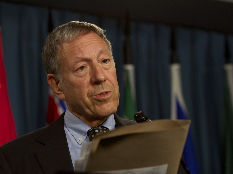 Liberal justice and human rights critic Irwin Cotler