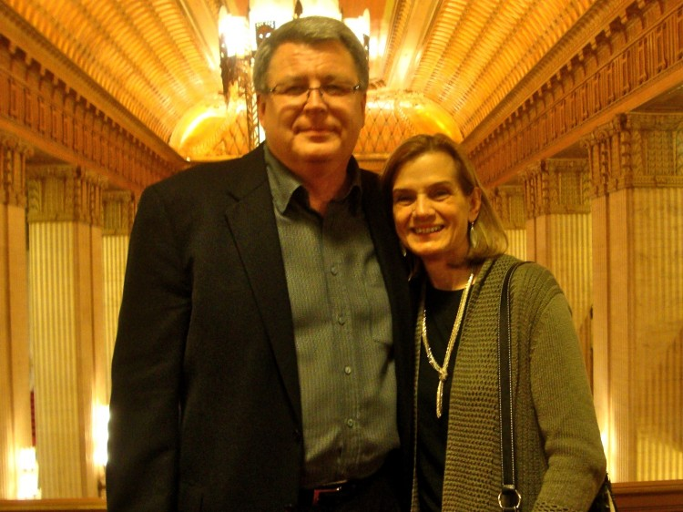 Mr. Bowman and Ms. Klein attend Shen Yun