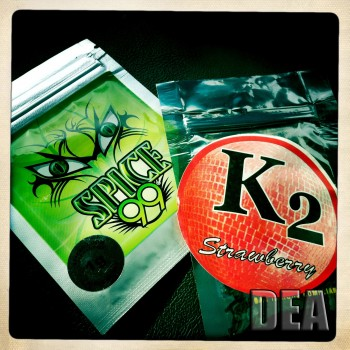Synthetic marijuana, one of the designer drugs target by state officials expanding the list of illegal chemicals. (Drug Enforcement Agency)