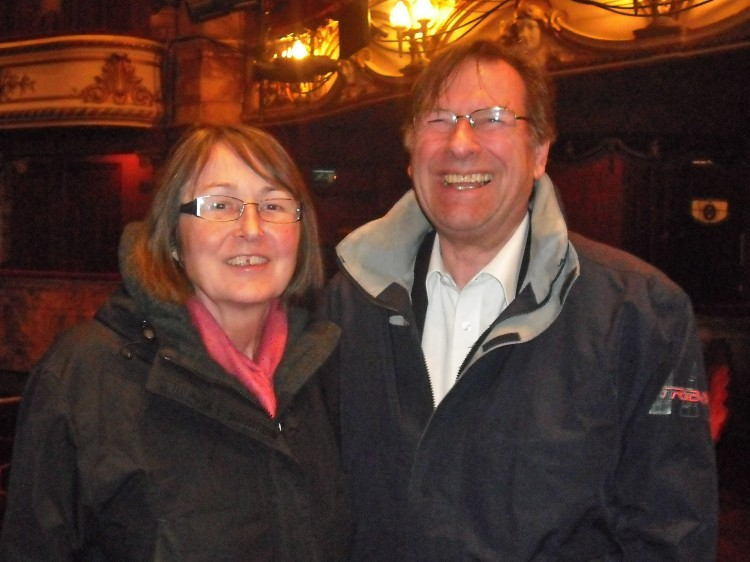Rosemary and Francis Budge attend Shen Yun