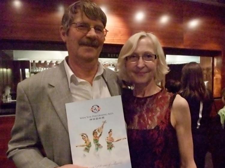 Martin and Joyce Wheeler attend Shen Yun