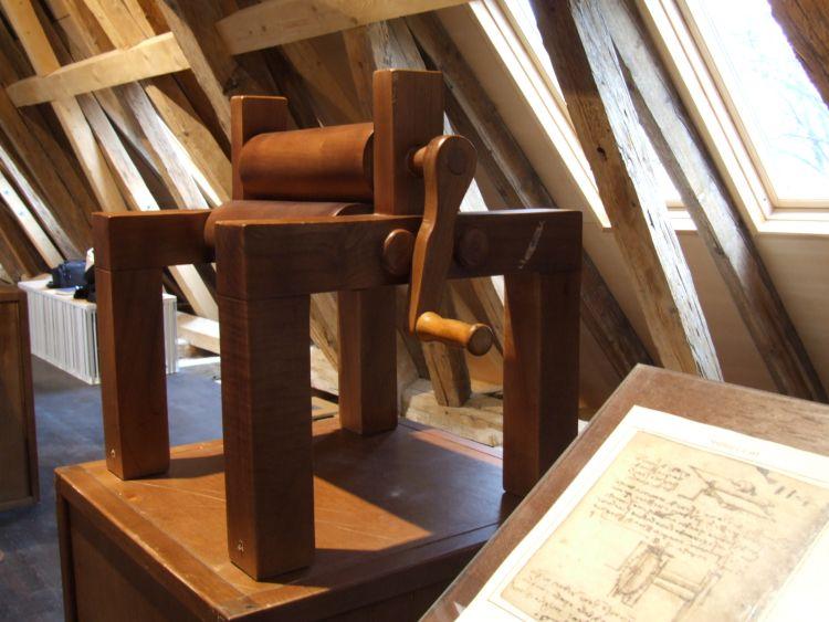 da Vinci, rolling mill