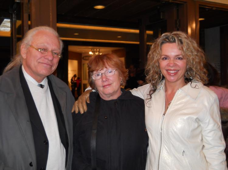 Ron Zboril with his wife Ursula and daughter Tanya (The Epoch Times)