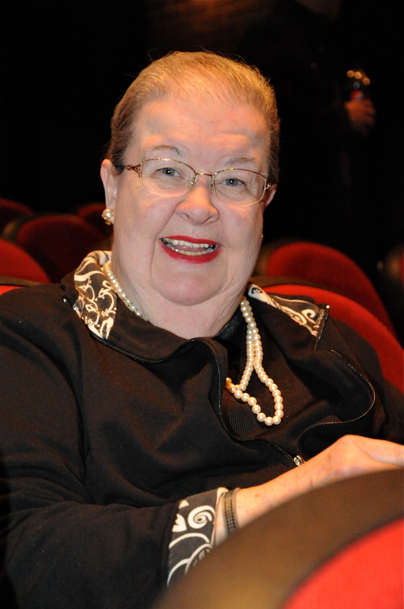 Actor and writer Jean Freeman attends Shen Yun