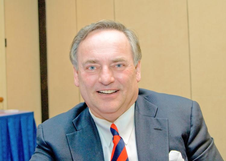 David Michonski is the chief executive officer of Coldwell Banker Commercial and has done market analysis since 1984. (Joshua Phillip/The Epoch Times)