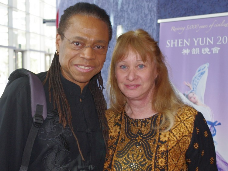 Dr. Vernon Barksdale and Dr. Louise Barksdale attend Shen Yun