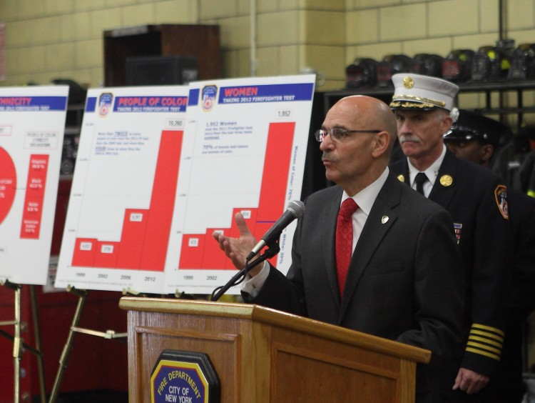 Fire Commissioner Salvatore J. Cassano