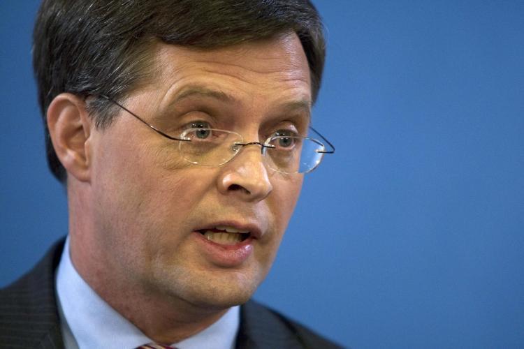 Dutch Prime minister Jan Peter Balkenende. (Ed Oudenaarden/AFP/Getty Images)