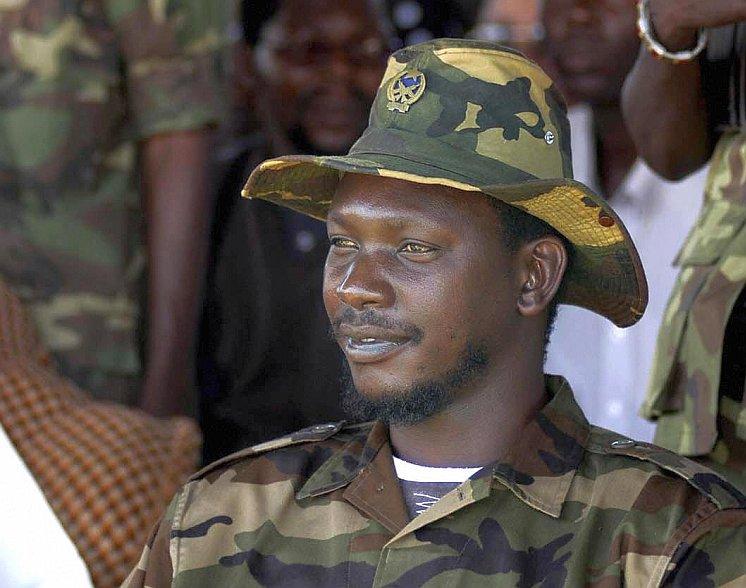 Congolese militia leader Thomas Lubanga Dyilo