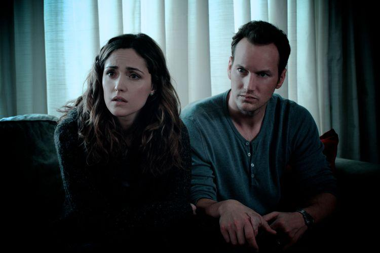 Rose Byrne and Patrick Wilson star in Insidious. (Momentum)