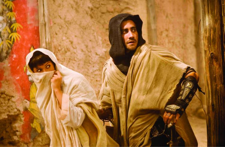 Jake Gyllenhaal and Gemma Arterton in the big budget start to the summer silly season, Prince of Persia. (Walt Disney)