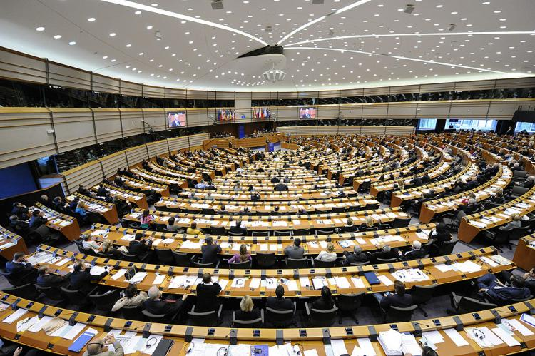 The EU headquarters in Brussels pictured on May 6, 2010. (John Thys/AFP/Getty Images)