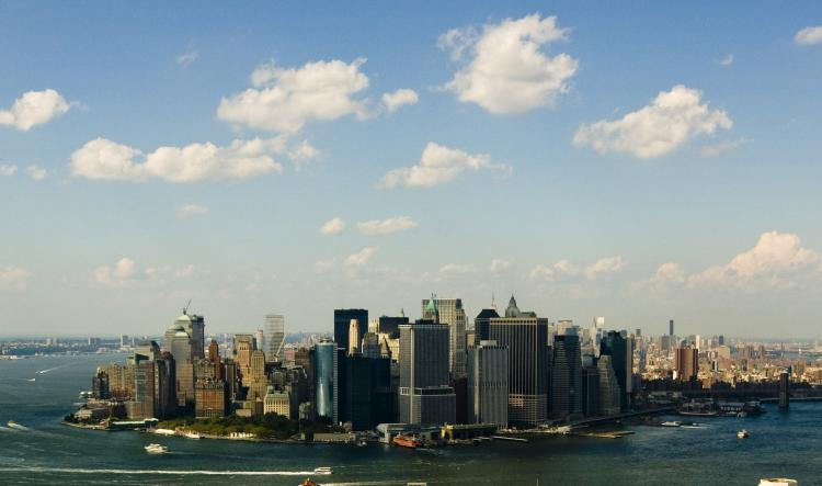 New York fell in the office property rankings from 2 last year to 9 this year. (Shaoshao Chen/The Epoch Times)