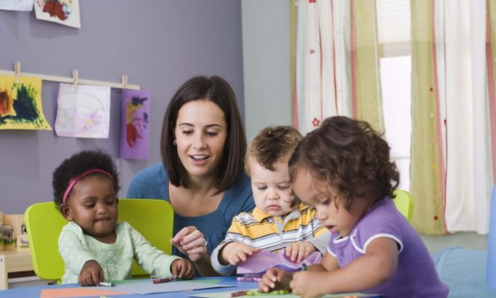 Early Education organizations in Australia have applauded the Federal Budget's new funding for the sector.(Photo's.com)