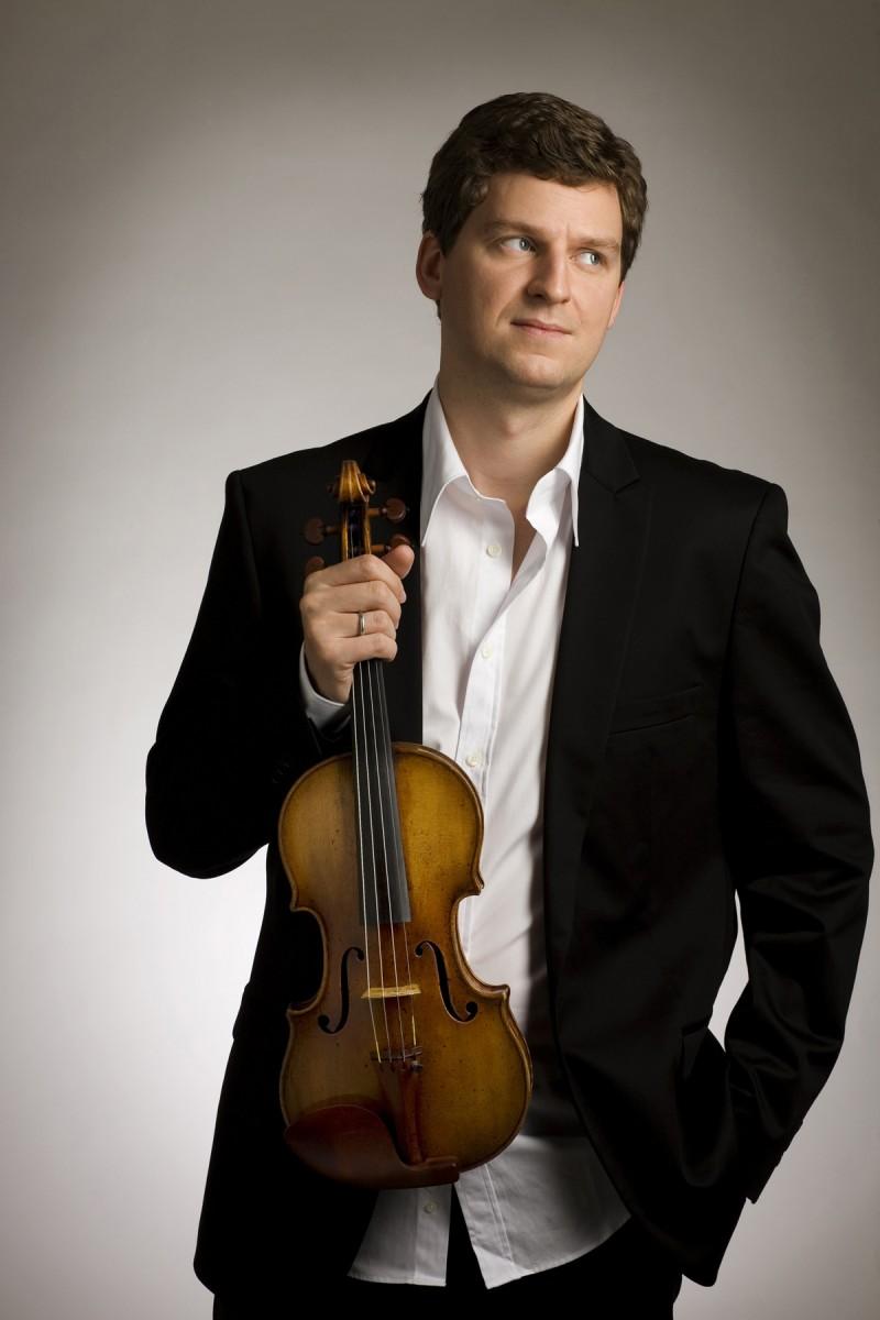 Violinist James Ehnes