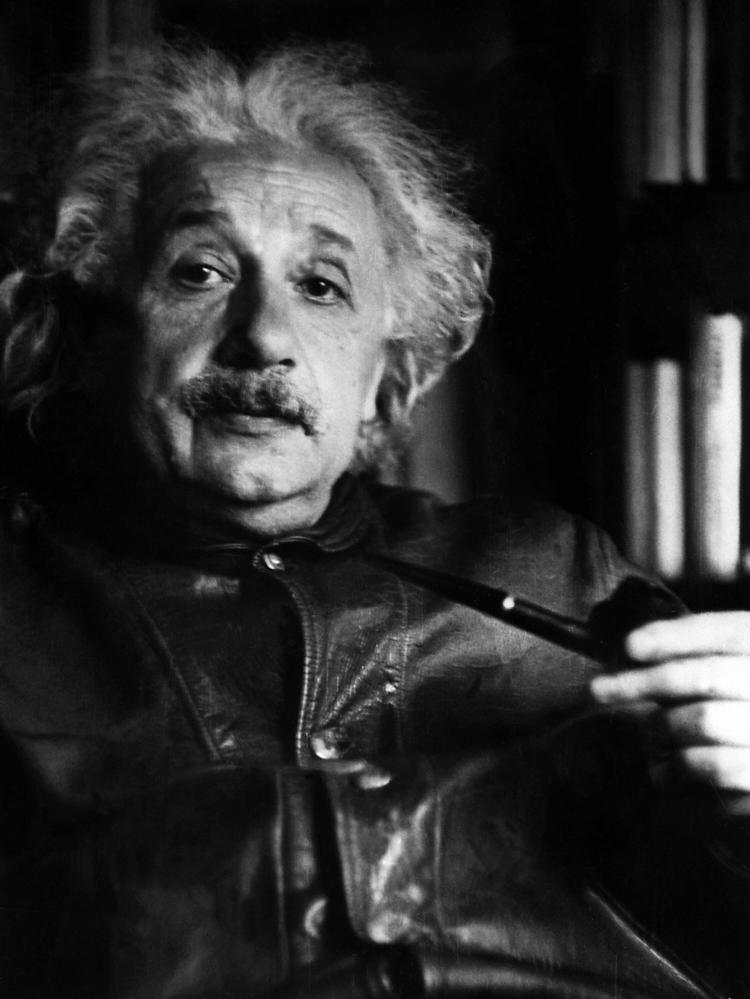 Albert Einstein at Princeton University in February 1938. Einstein was awarded the Nobel Prize for Physics in 1921. His four papers on relativity theory were credited with changing the way we view the Universe. (AFP/Getty Images )