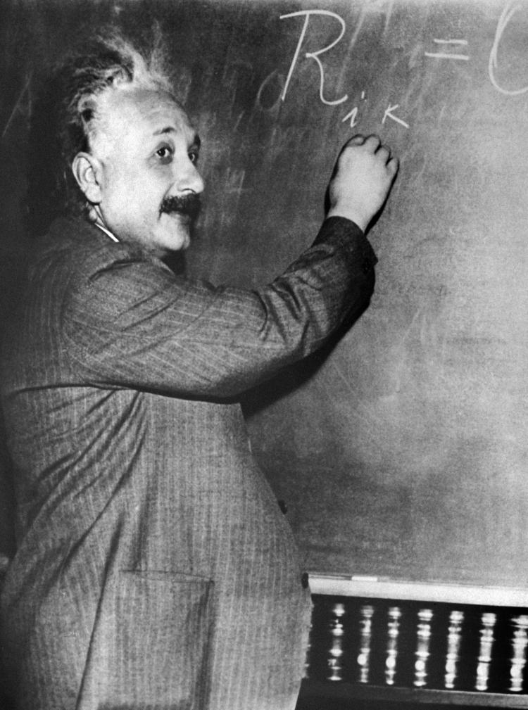 APPLICATION OF MATHEMATICS: Undated portrait of Albert Einstein (1879-1955) who was awarded the Nobel Prize for Physics in 1921. (AFP/Getty Images)