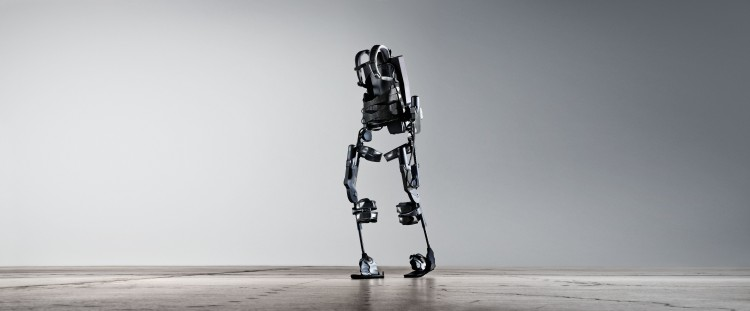 The Ekso exoskeleton robotic legs