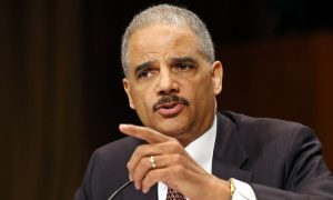 Eric Holder, Former Obama AG, Tells Crowd to Kick Republicans