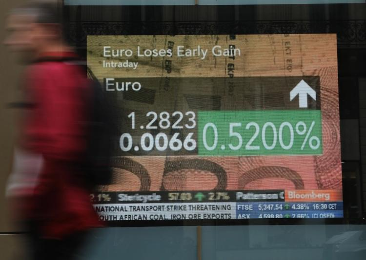 Stock markets and the euro soared after the EU and IMF agreed a near one-trillion-dollar rescue package for the eurozone, stemming a crisis that threatened to derail global economic recovery.  (Thomas Coex/Getty Images)