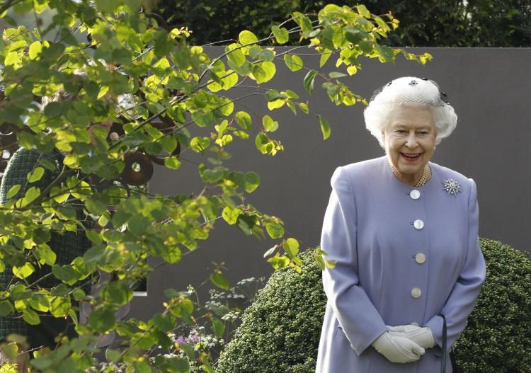 Queen Elizabeth II  The Chelsea Flower Show