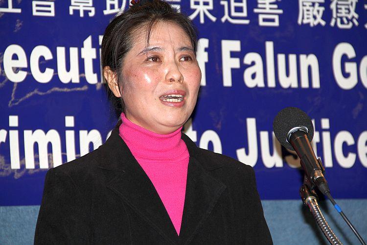 Chun Mei Ma, a Falun Dafa practitioner