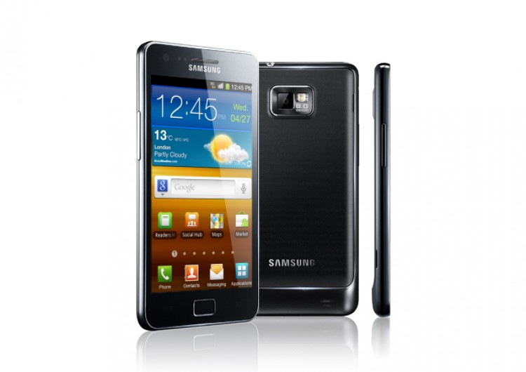 The new Samsung's Galaxy S II smart phone is due expected to come out at the end of August. (Courtesy of Samsung.com)