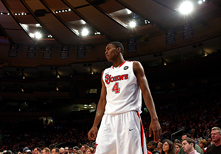 Moe Harkless has double-doubles in three straight games for St. John's. Chris Chambers/Getty Images