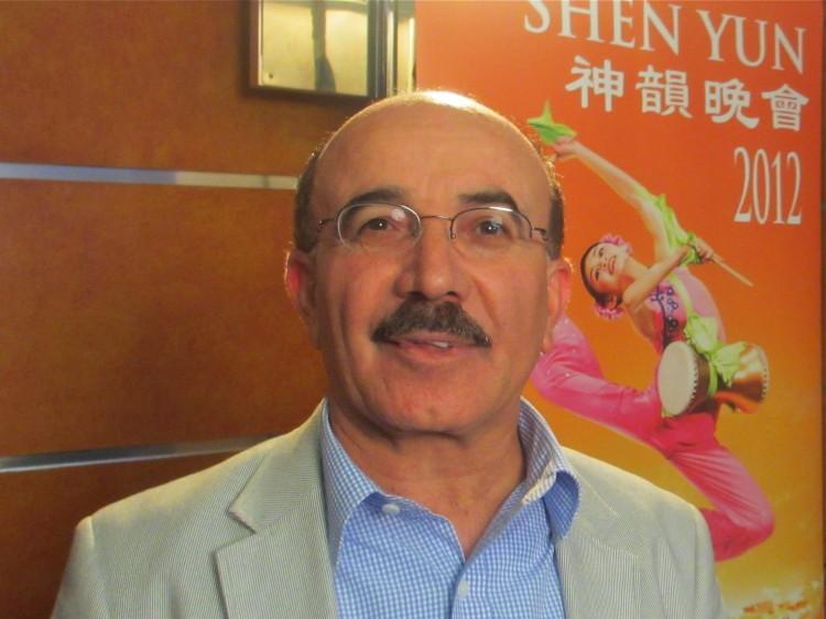 Kevin Badin attends Shen Yun