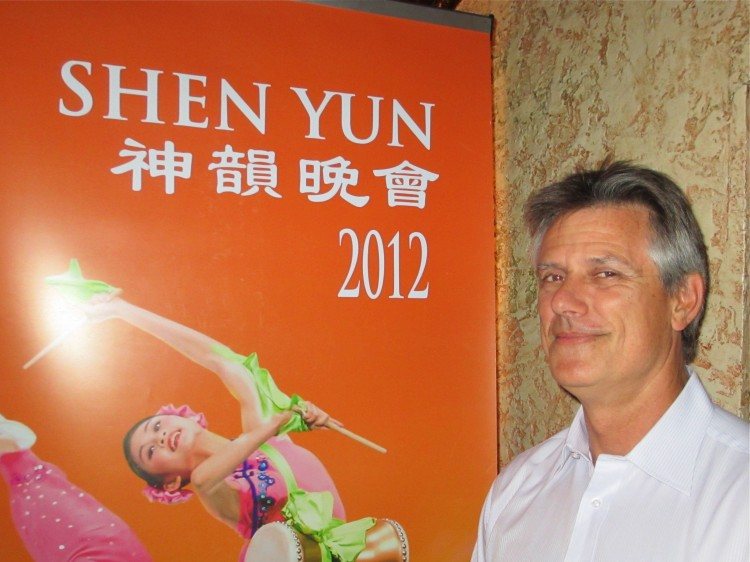 Anthony Steel attends Shen Yun