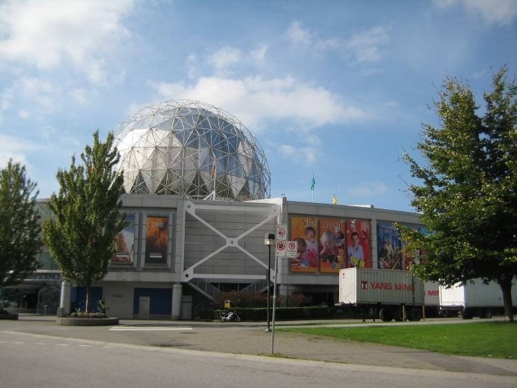 Science World British Columbia and the B.C. Ministry of Education are partners in a new project to encourage environmental sensitivity among young people.  (Helena Zhu/The Epoch Times)
