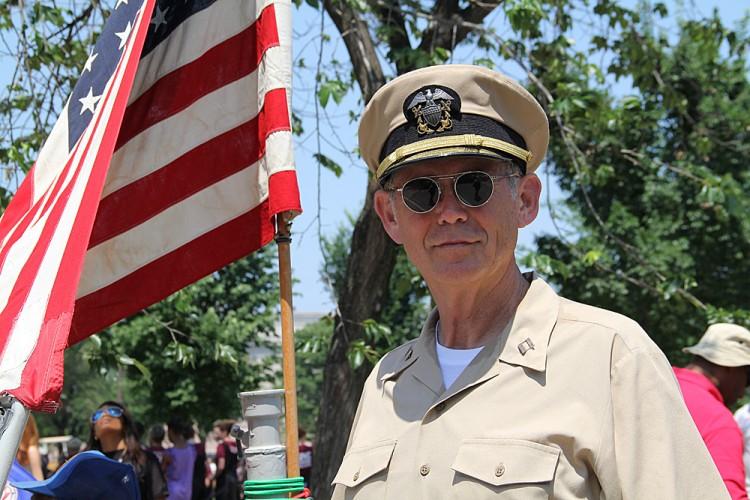 Richard Baldwin, a retired naval officer