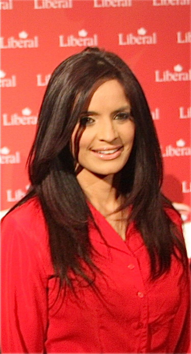 Liberal candidate Ruby Dhalla. Despite more female candidates running in the current federal election, a significant breakthrough in the number of women who will become MPs after the votes are counted remains unlikely, says Equal Voice. (Matthew Little/The Epoch Times)
