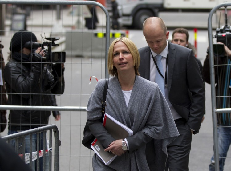 State prosecutors Svein Holden and Inga Bejer Engh