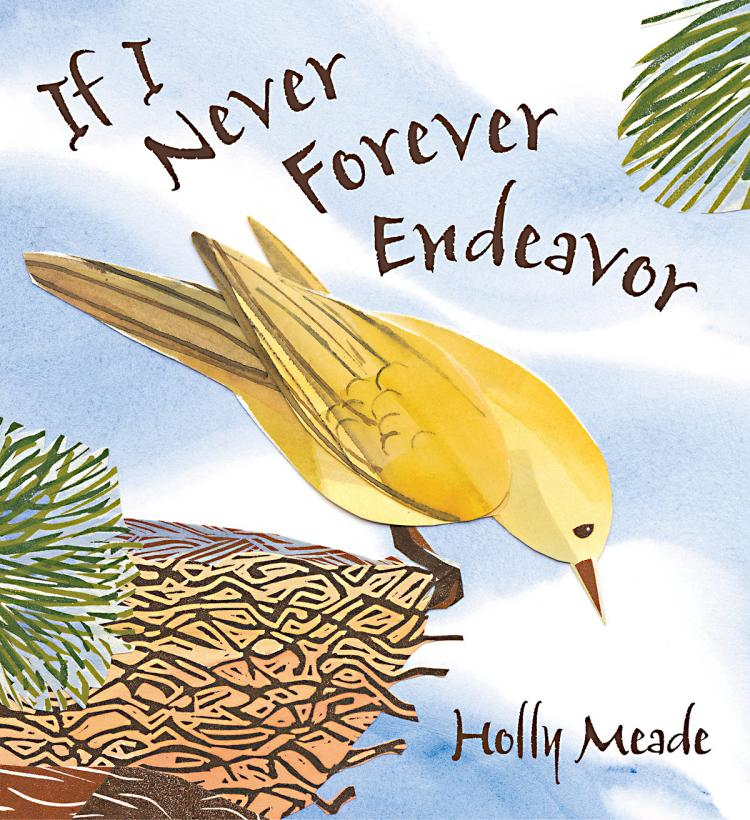 `If I Never Forever Endeavor` (Courtesy of Candlewick Press)