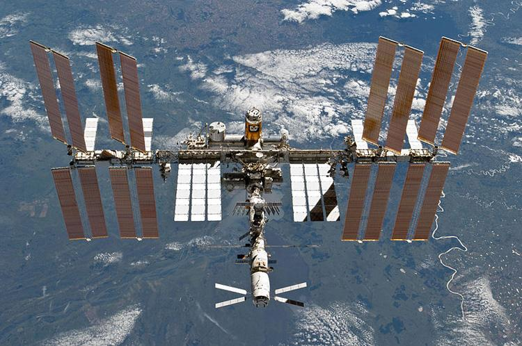 The International Space Station on Mar. 7, 2011. (NASA)