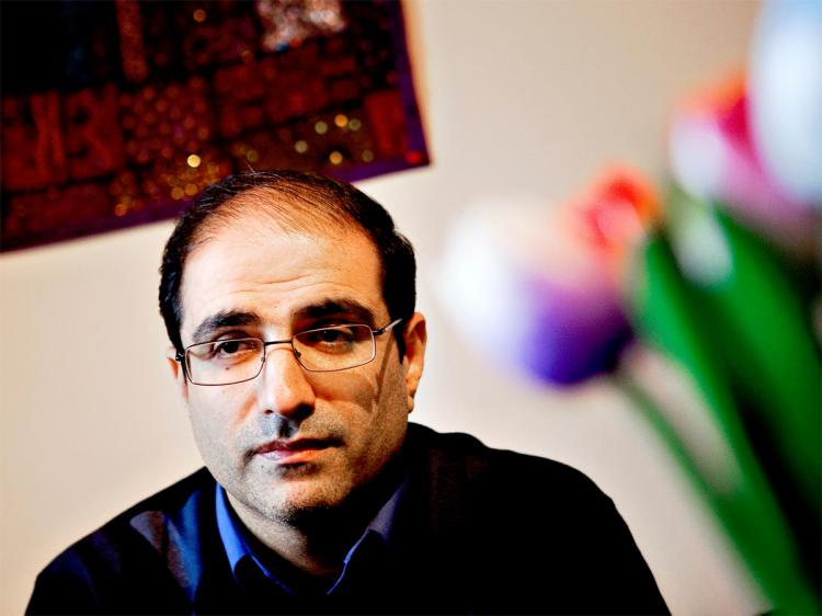 IRAN: Former Iranian Consul Mohammed Reza Heydari poses on Jan. 20, 2010, in Oslo, Norway. Mohammed Reza Heydari quit his job in protest against Tehran's violent repression of opposition demonstrators. He has been granted political asylum in Norway. (Tore Meek/AFP/Getty Images)