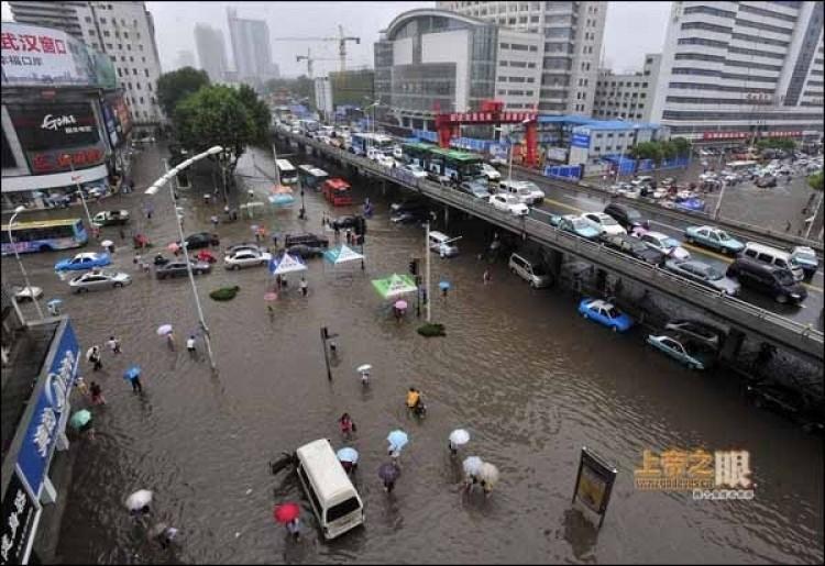 June 18, Jianghan district, Wuhan. (From godeyes.cn)
