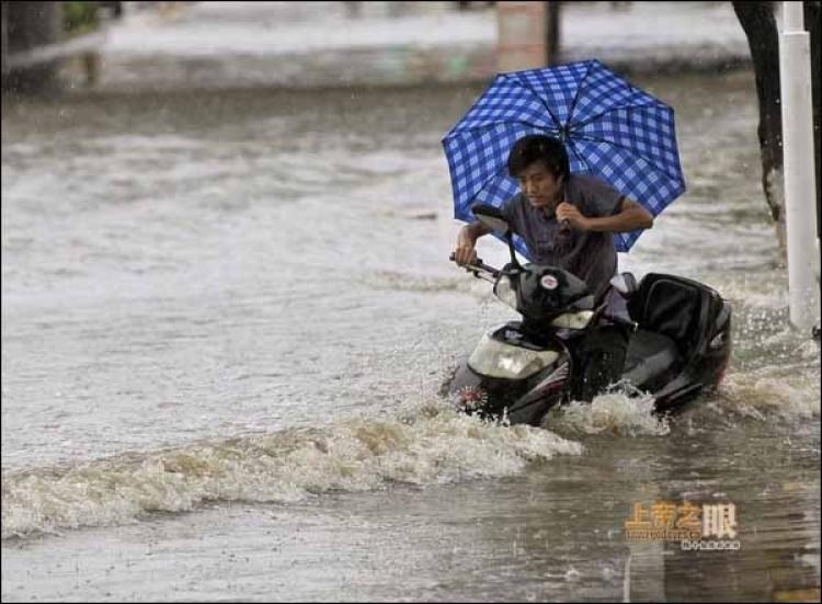 June 19, Yingtan city, Jiangxi. (From godeyes.cn)