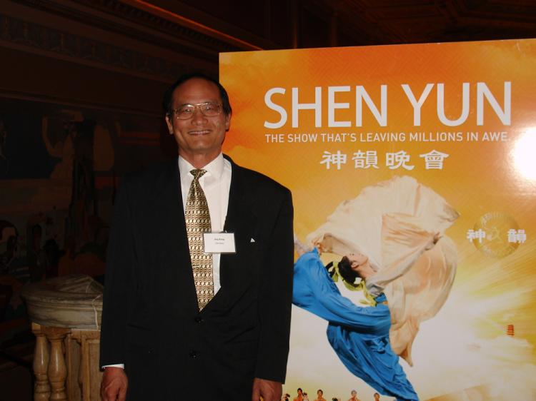 Jung Jing, the publisher of Ohio Chinese American News Inc. (The Epoch Times)