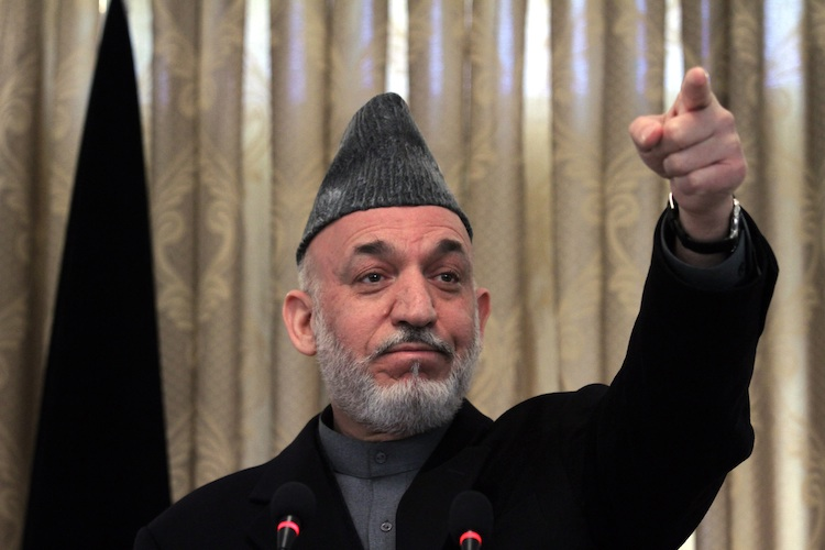 Afghan President Hamid Karzai Press Conference