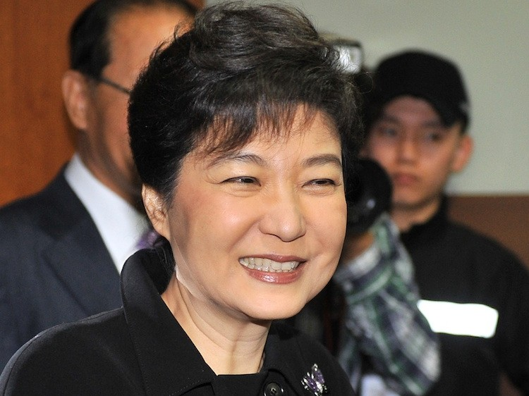 Park Geun-Hye, interim leader and likely Korean presidential candidate
