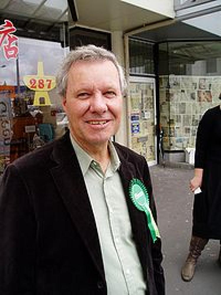 Keith Locke, member of parliament for the Green Party.