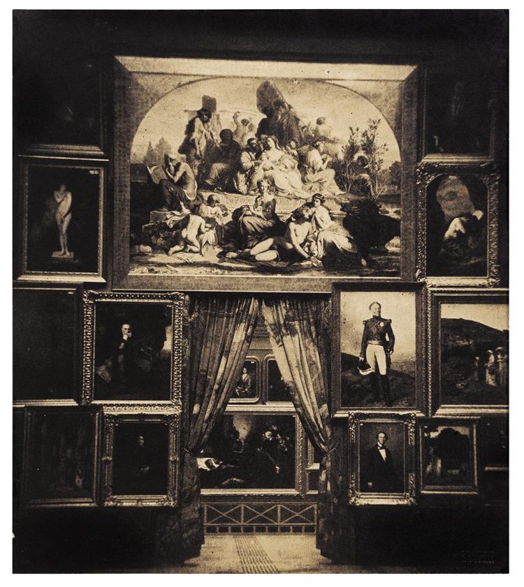 Gustave Le Gray captures the famous Paris Salon