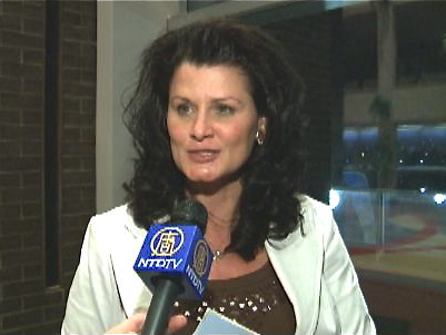 Regina Leader Post staffer Cindy Zawislak