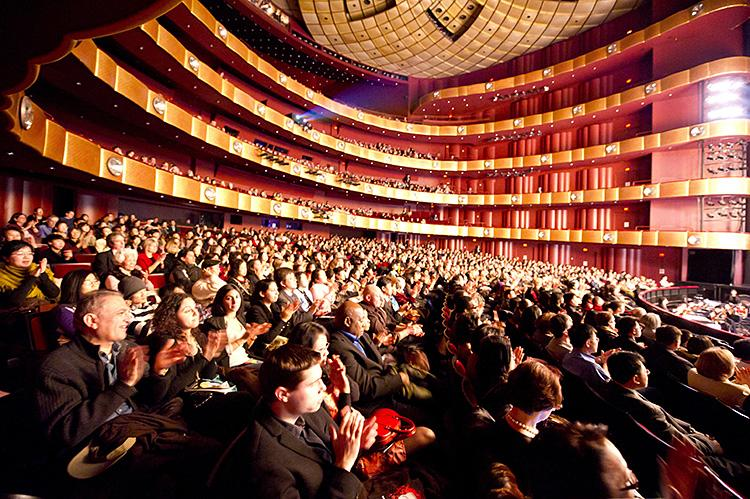 Shen Yun Performing Arts New York Company performed to a full house at Lincoln Center's David H. Koch theatre in New York City on Jan. 15. (Dai Bing/Epoch Times Staff)