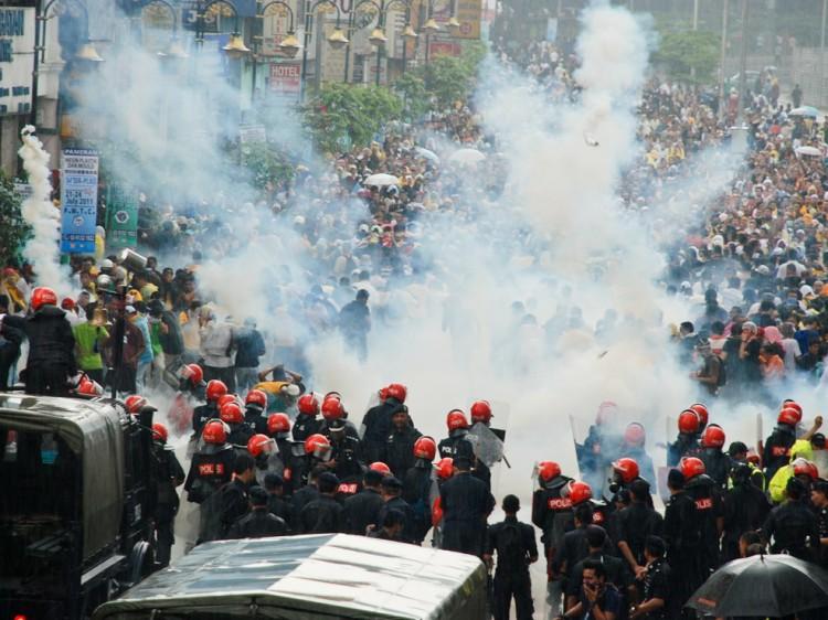 MALAYSIA: Saturday's BERSIH Rally.  (James Chow/The Epoch Times)