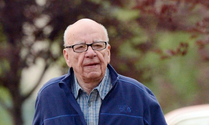 Rupert Murdoch, Chairman and CEO of News Corporation, attends the Allen & Company Sun Valley Conference on July 13, 2012 in Sun Valley, Idaho. (Kevork Djansezian/Getty Images)