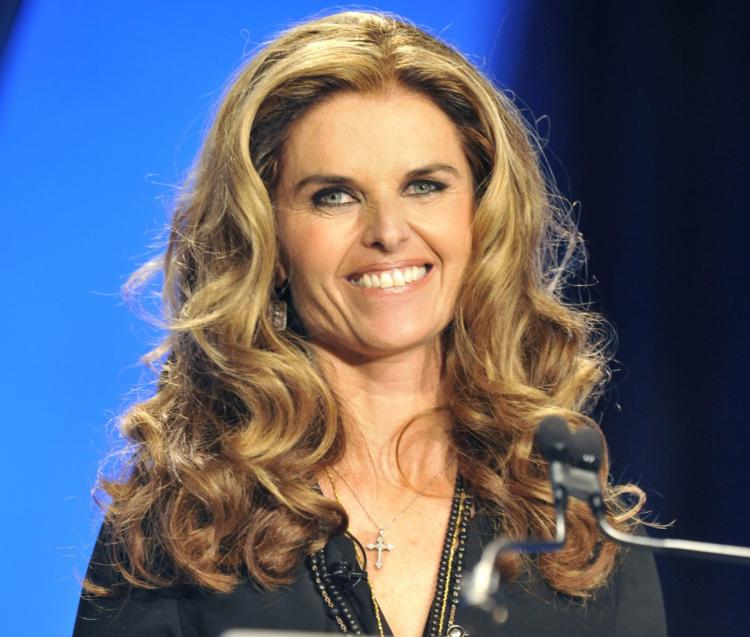 Maria Shriver (Toby Canham/Getty Images)