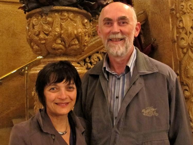 Nina and Mark Simcocks at Shen Yun